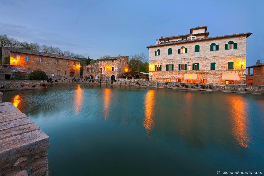 Photo - Reflections in Bagno Vignoni