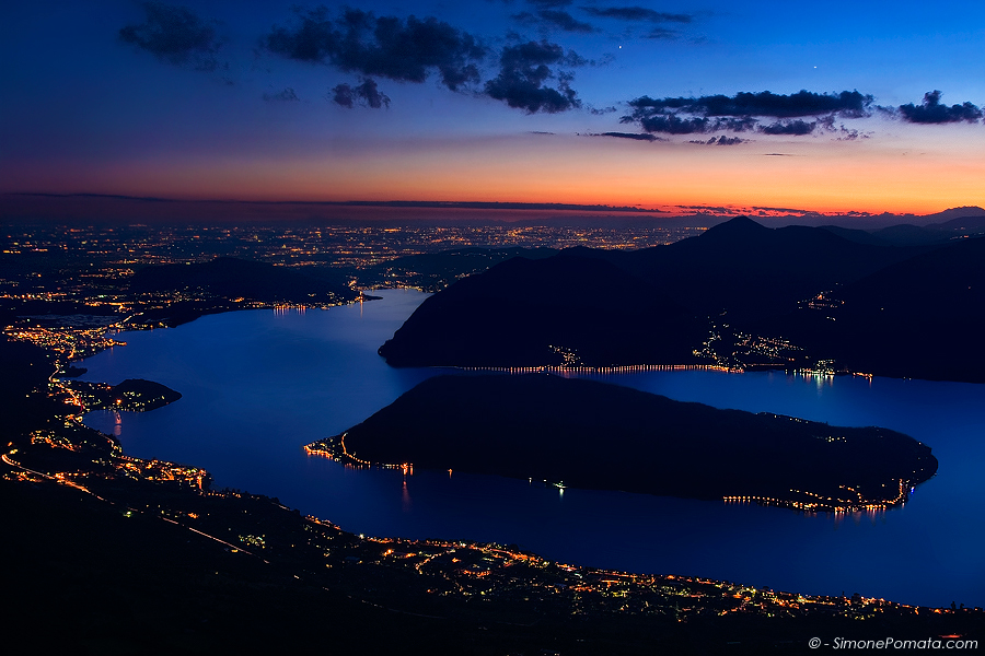 Monte Isola Twilight