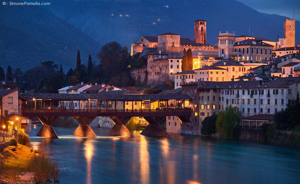 Photo bassano del grappa bridge for Foto di ponti coperti