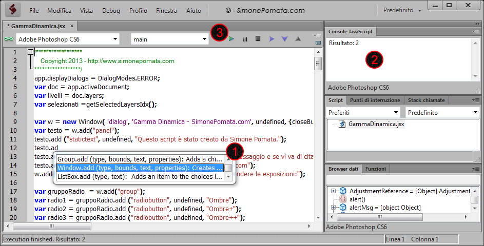 what is adobe extendscript toolkit
